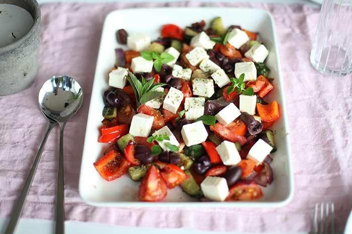 Lämmin Salaatti