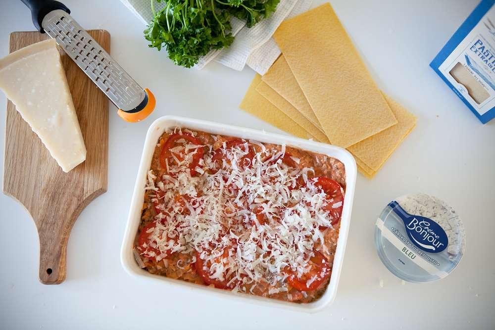 resepti lasagne