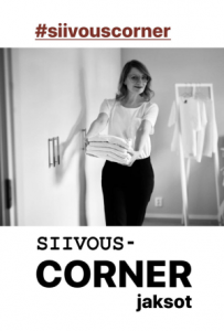 Anne Melender #siivouscorner