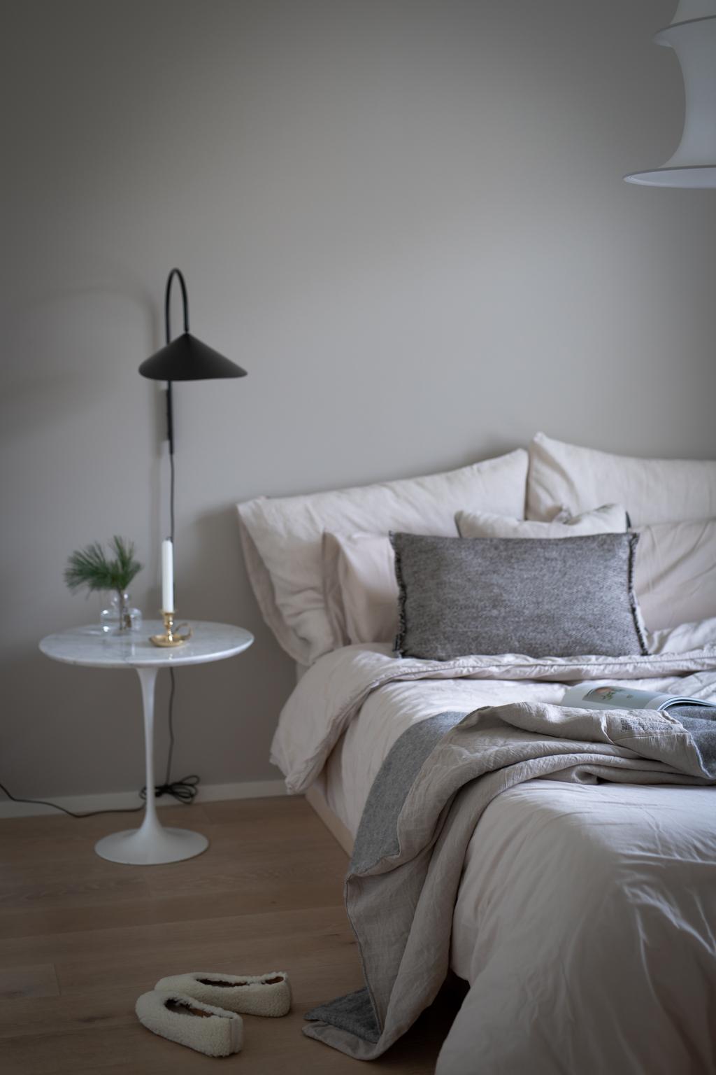 Anne Melender Makuuhuone Pellava